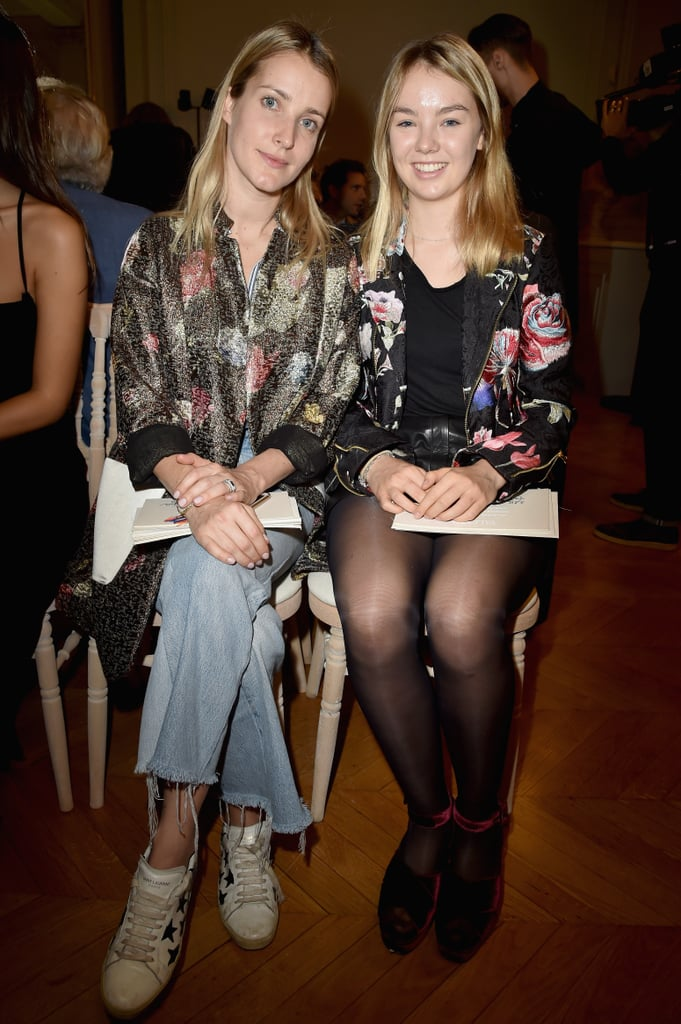 At the Valentino show during Paris Fashion Week in October 2016.