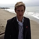 Gabriel Mann is back as the smartly dressed Nolan Ross on Revenge. Source: Twitter user Gabriel_Mann
