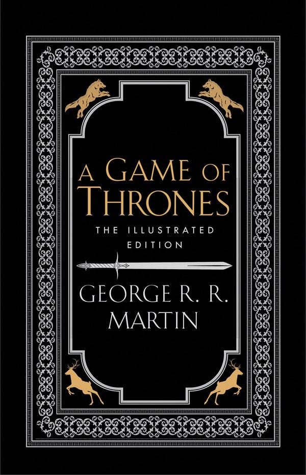 A Game Of Thrones The 20th Anniversary Illustrated Edition, $49.95