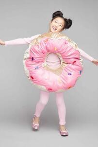 Sprinkle Doughnut Costume For Kids