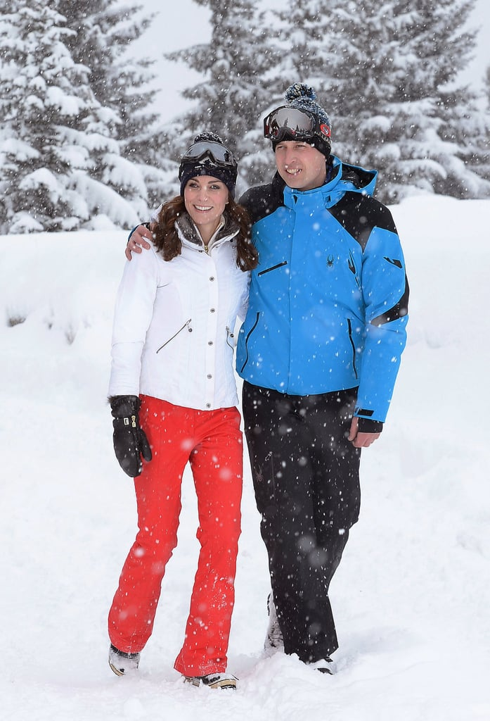 British Royals Ski Vacation Pictures 2016
