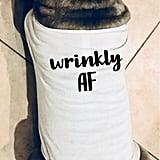 Wrinkly AF Funny Dog Shirt