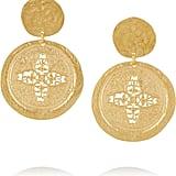 Kenneth Jay Lane Gold-Plated Earrings ($90)