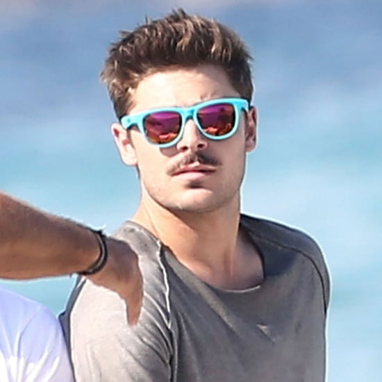 Zac Efron Shirtless in St Tropez on the 4th of July Pictures