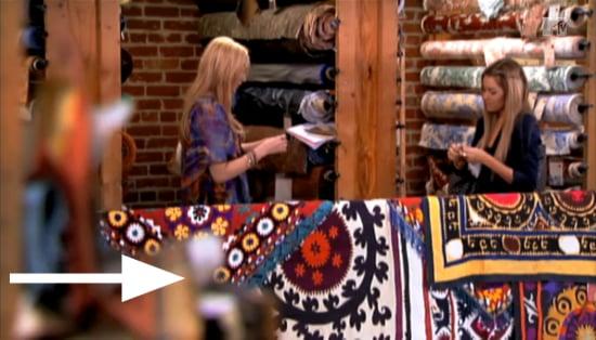 Lauren Conrad and Stephanie Pratt Shop For Textiles