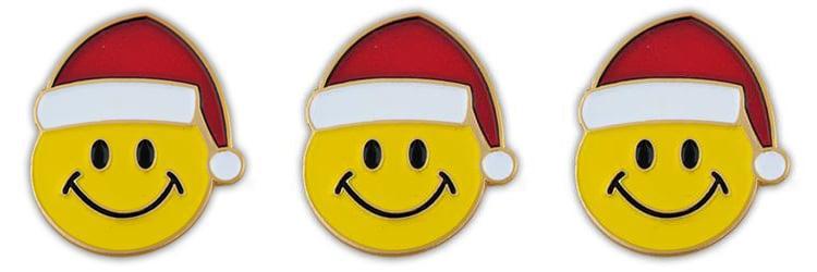 Santa Smiley Faces