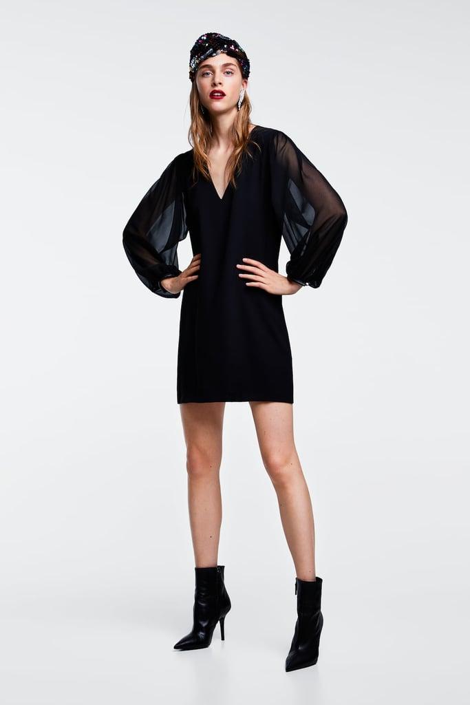 Zara Mini Dress Halloween Costume Ideas With A Black Dress