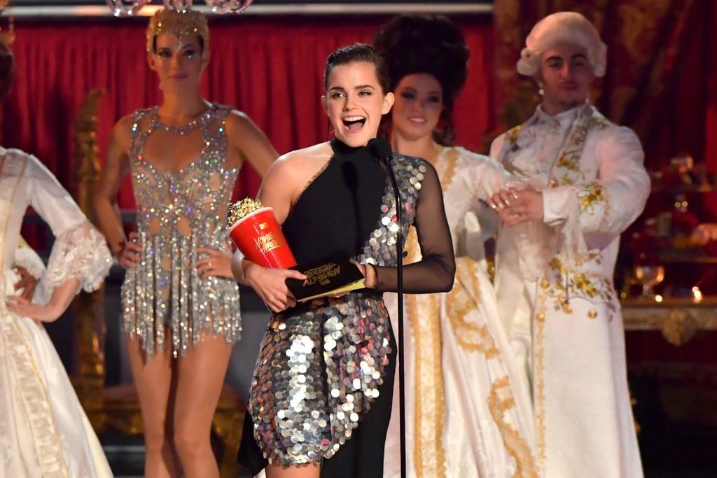 Emma Watson Beauty at the MTV Movie Awards 2017