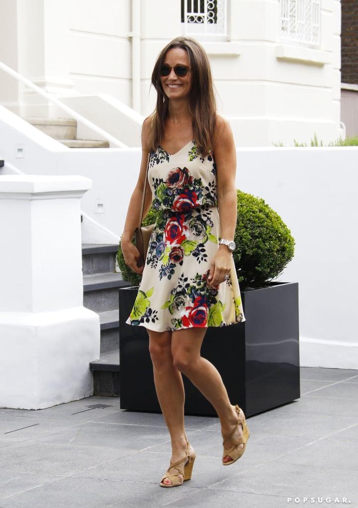 Pippa Middleton's Floral Dress July 2016