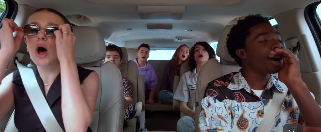 Stranger Things Cast Carpool Karaoke: The Series Video