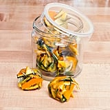 Frozen Citrus-Rosemary Garbage Disposal Cleaning Cubes