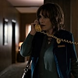 Joyce Byers, Stranger Things Job: cashier Median annual salary: $18,560 Even before any stranger things happen, the struggle is very real for Joyce, a single mom on a cashier's salary.