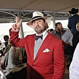 Joey Fatone at the Kentucky Derby.
