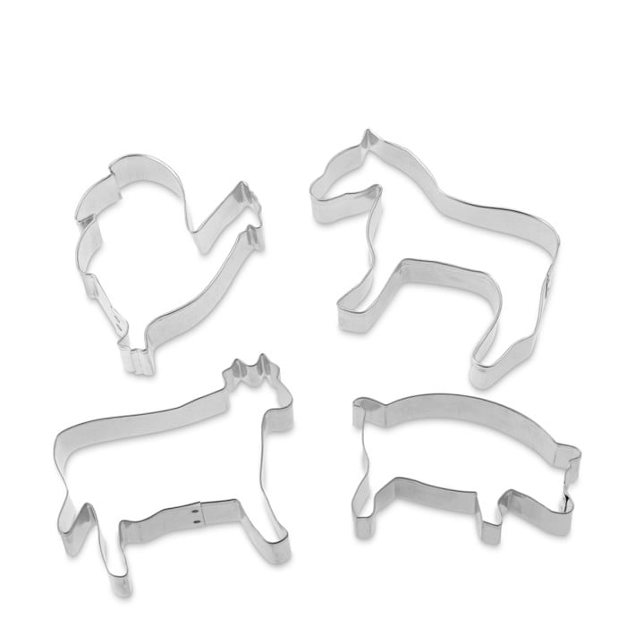 Quirky: Farm Animals Cookie Cutter Set