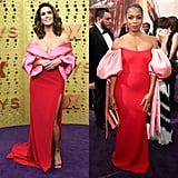 Mandy Moore and Susan Kelechi Watson at the 2019 Emmys