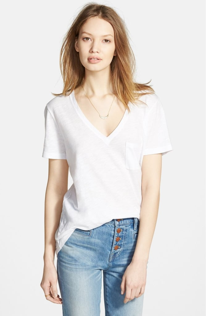 Your Live-In White Tee