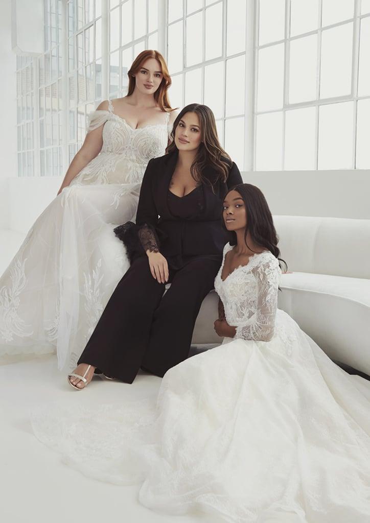 Ashley Graham x Pronovias Curvy Wedding Dress Collection
