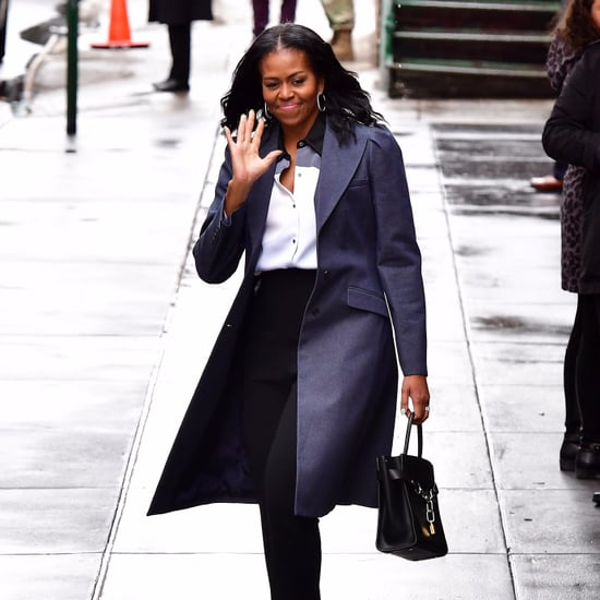Michelle Obama's Alexander Wang Bag in New York March 2017