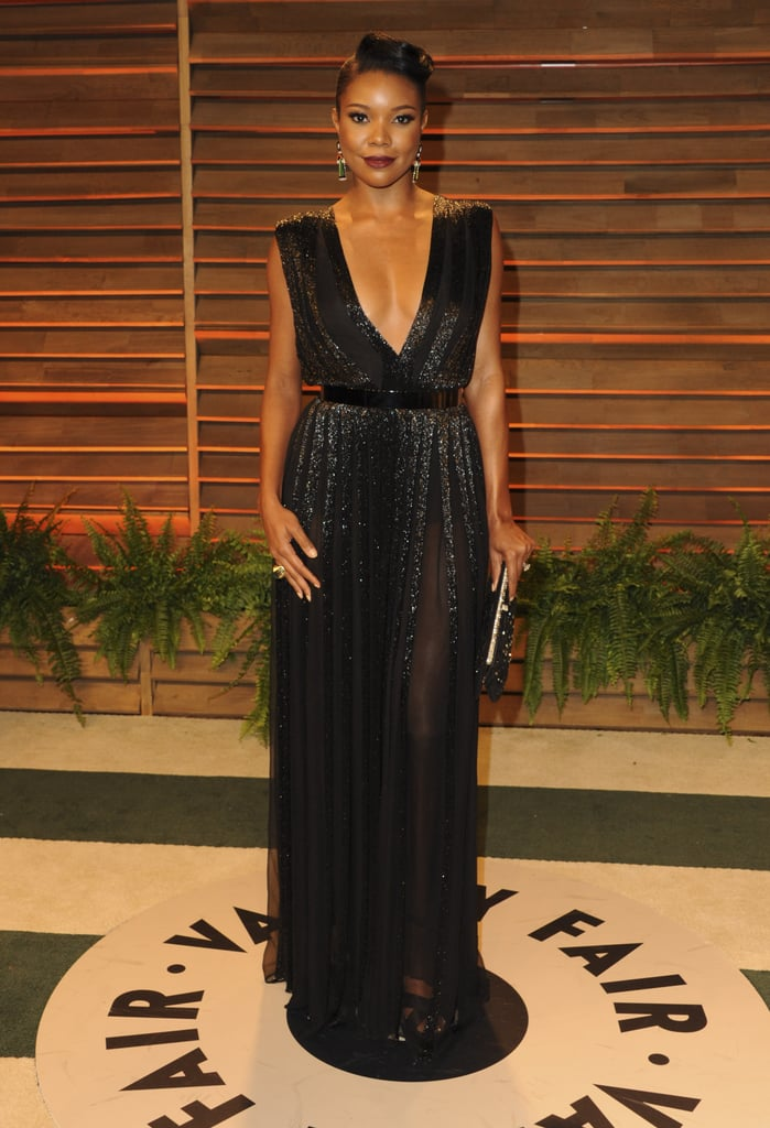 Gabrielle Union looked glamorous.