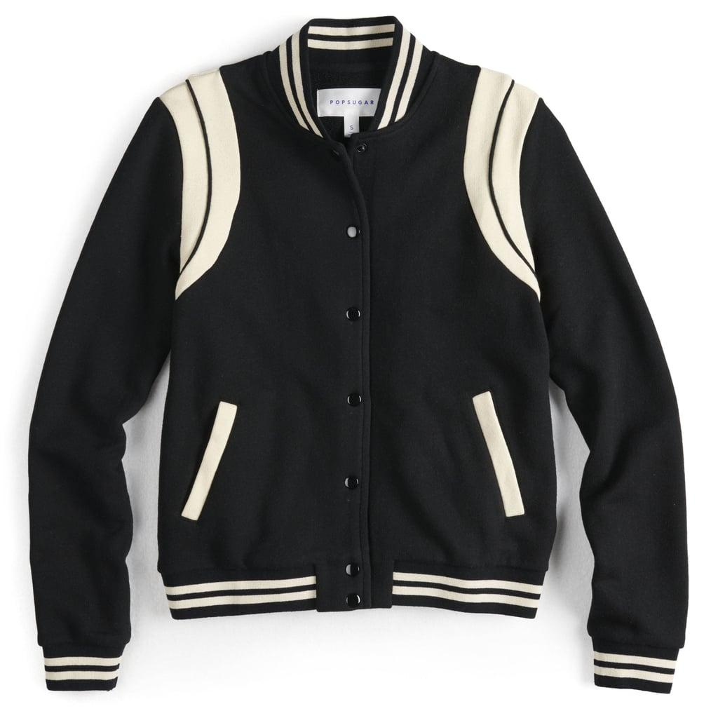 83faf757b POPSUGAR Collection at Kohl's Athletic Bomber Jacket | Best Winter ...
