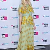 Elle Fanning found this Rodarte dress on the Spring '12 runways.