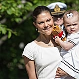 Princess Estelle at the National Day Celebrations in 2013
