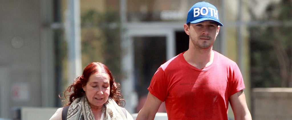 Shia LaBeouf Is Still a Mama's Boy