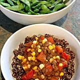 5:30 p.m. — Lentils With Quinoa and Edamame