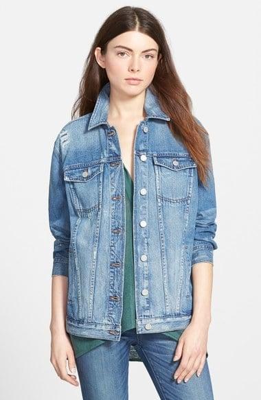 Madewell Oversize Denim Jacket ($128)
