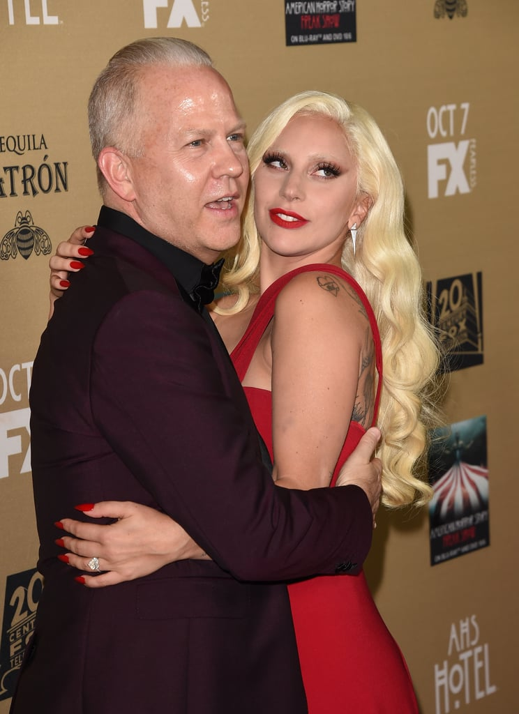 Lady Gaga and Ryan Murphy