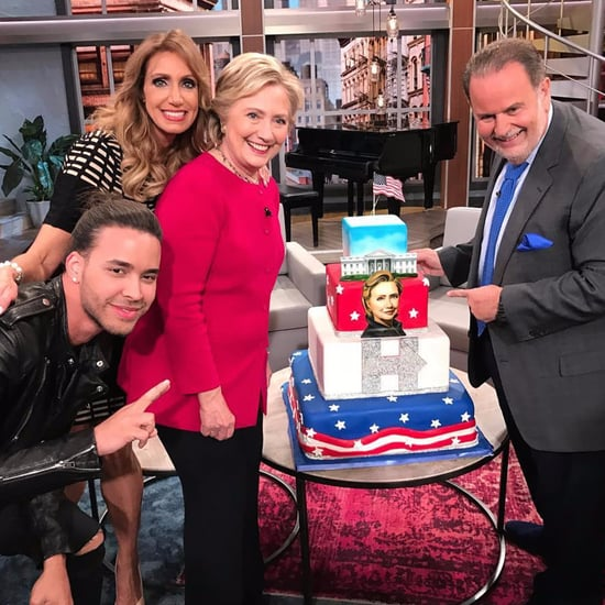 Hillary Clinton on El Gordo y la Flaca 2016
