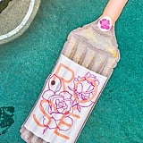 Glitter Rosé Pool Float