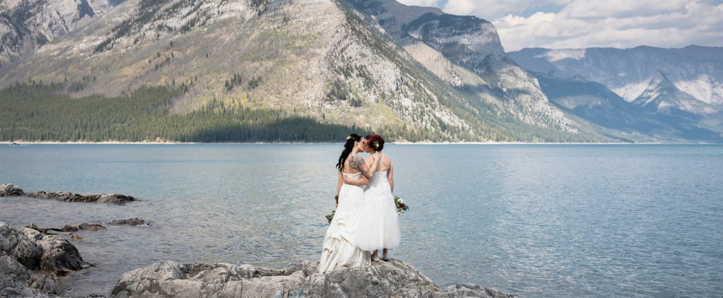 These 2 Brides Had the Most Beautiful Lakeside Ceremony in Canada