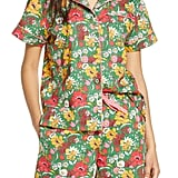 Ban.do Emerald Super Bloom Leisure Shirt