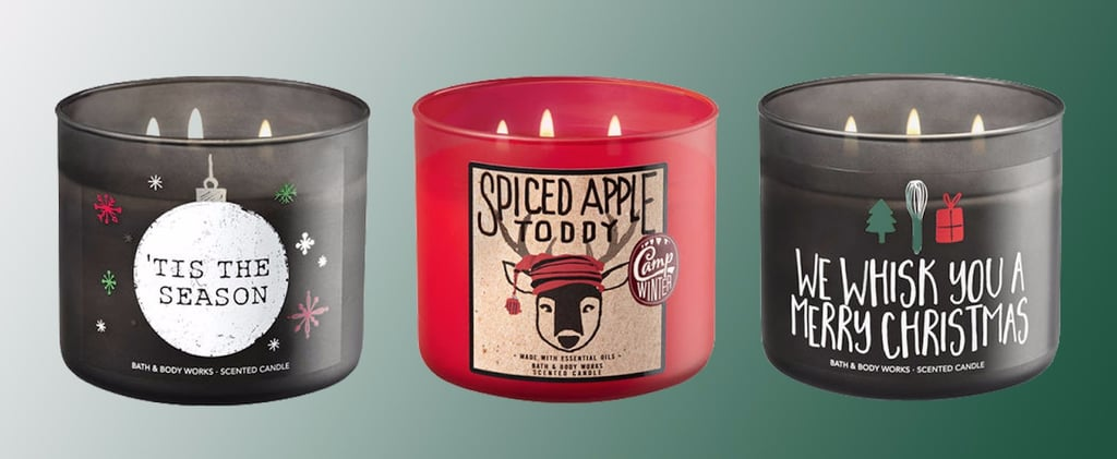 Bath & Body Works Holiday Christmas Candles 2017