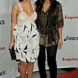 Kim Kardashian and her sister Kourtney walked the red carpet together at a Rock the Vote event in LA in September 2008.