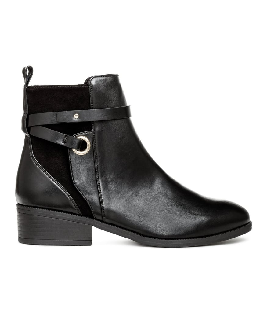 H&M Boots With Straps