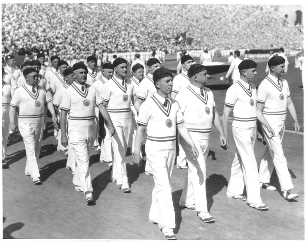 Team USA at the 1932 Olympics