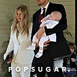 Fergie and Josh Duhamel took Axl to his baptism in LA back in December.