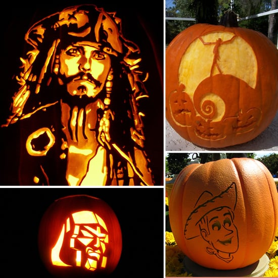 Pop Culture Halloween Pumpkins