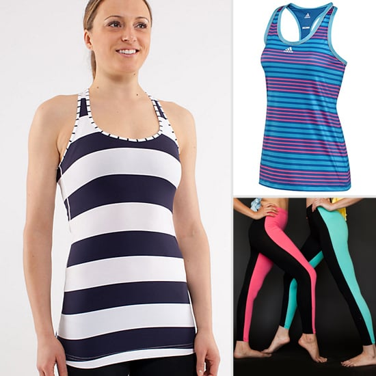 Striped Workout Clothes For Spring
