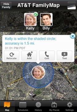 Track Family Members With AT&T's FamilyMap App