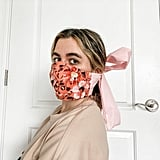 Fitted Cotton Bow Face Mask