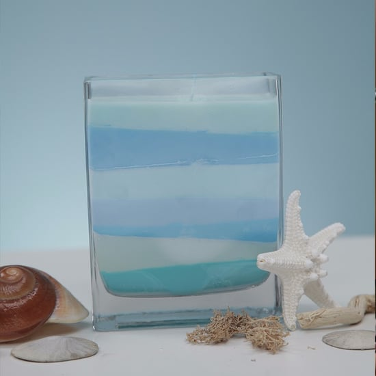 DIY Mermaid Candle