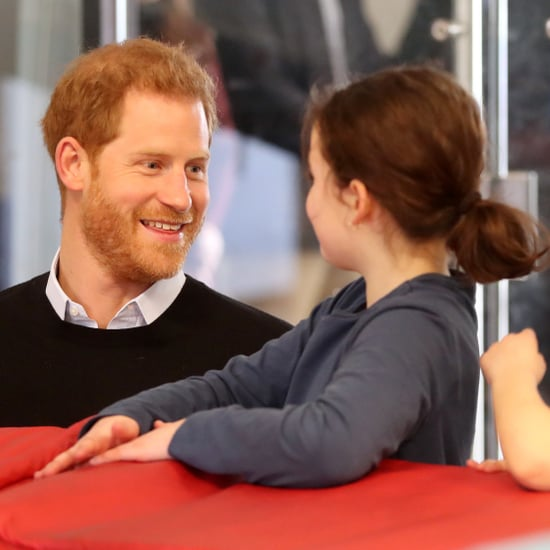 Prince Harry Visits Fit and Fed February 2019