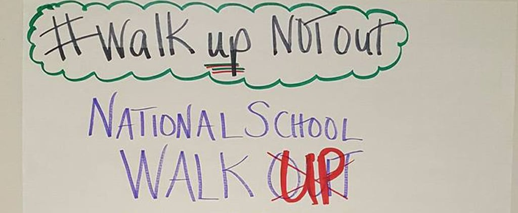 "A Teacher Told Her Students to ""Walk UP, Not Out"" — and Here's Why It's a Big Issue"