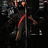 Tim McGraw was on stage at the at the Country Music Association Awards in Nashville.