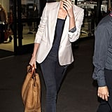 Charlize Theron Blazes Her Way Through the Airport and on to New Roles