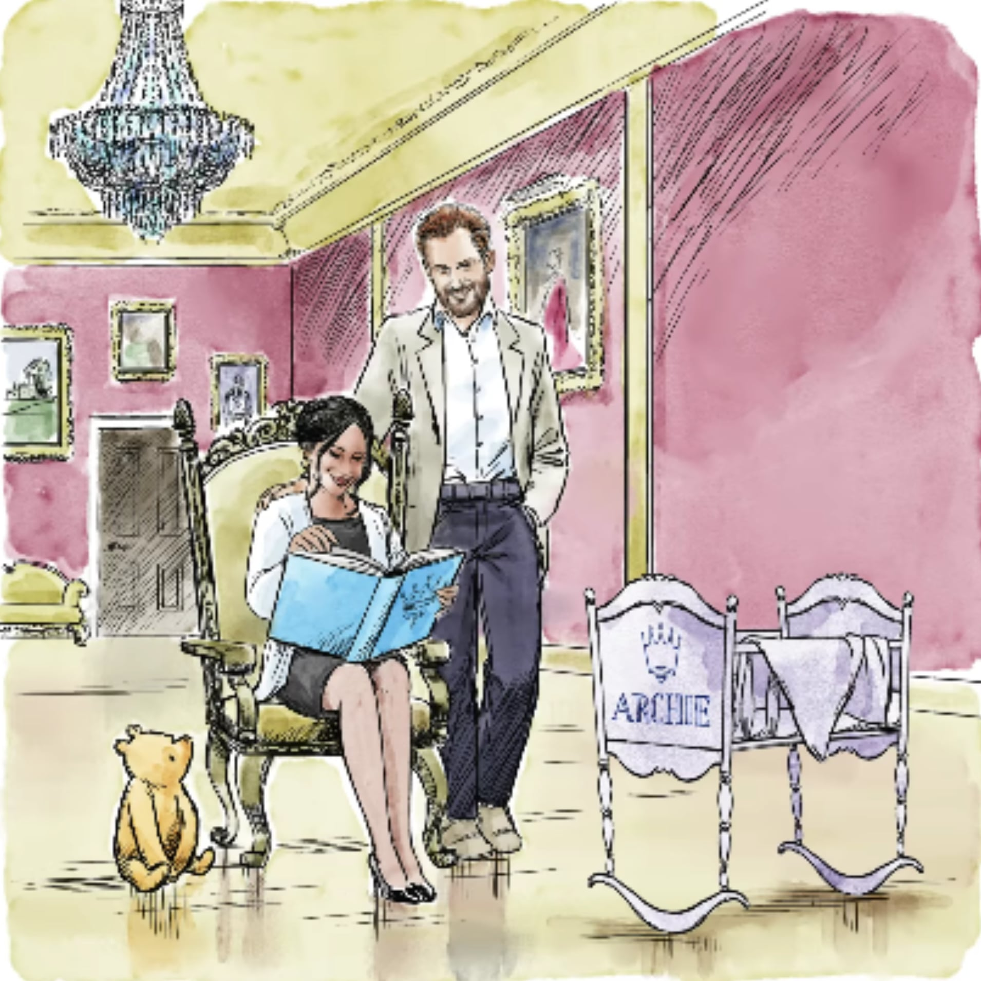 Disney Winnie the Pooh Illustration For Archie   POPSUGAR UK Parenting