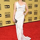 Diane Kruger was a vision in white Donna Karan in 2010.